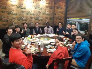 Dinner for celebrate the graduation of Yomi & Chang-min 이미지